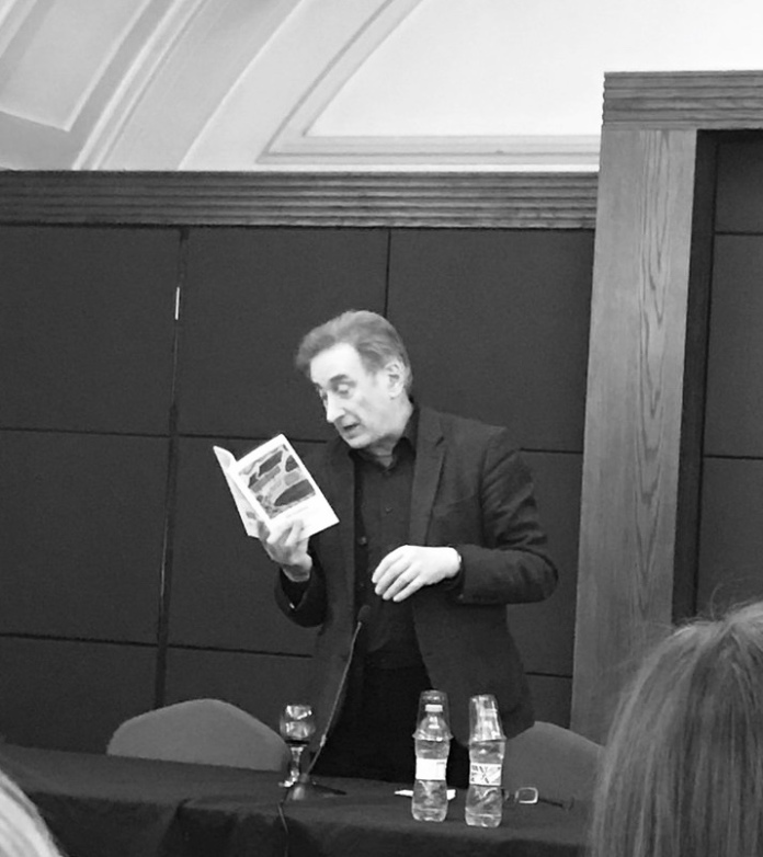 George Szirtes reading at the My Europe launch